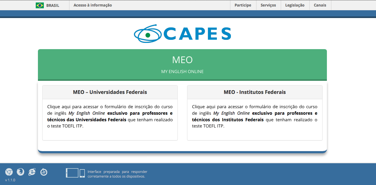 CAPES MEO